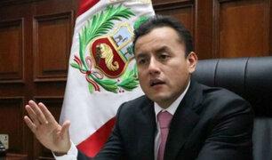 Richard Acuña solicitó licencia temporal al partido APP