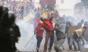 Ecuador: se registran disturbios violentos en nueva jornada de protestas