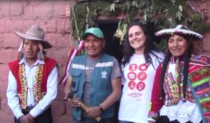 En las alturas del Cuzco, construyen 50 casas abrigadoras gracias a BCP, ADRA y Panamericana TV
