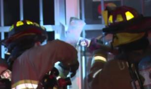 La Victoria: amago de incendio en restaurante desató pánico entre vecinos