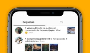 Atención stalker: Instagram elimina la pestaña 'Siguiendo'