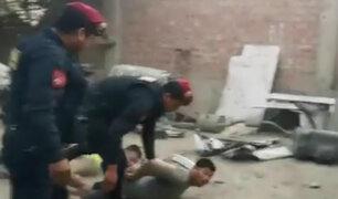 Chosica: desarticulan banda dedicada a robar y desmantelar autos
