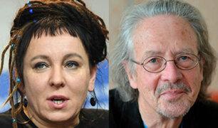 Escritores Olga Tokarczuk y Peter Handke ganan el Nobel de Literatura 2018 y 2019