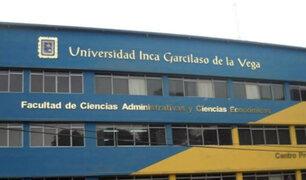 Universidad Inca Garcilaso de la Vega presentará recurso de reconsideración ante Sunedu