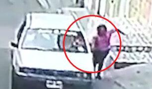 Autoridades identifican a sujeto que arrastró a anciana en Independencia