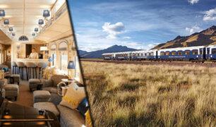 Tren de lujo que cruza Arequipa, Cusco y Puno fue elegido el mejor del mundo