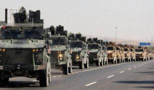 Turquía lanza ofensiva contra fuerzas kurdas en el norte de Siria