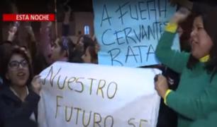 Universidad Garcilaso de la Vega: Protestas estudiantiles tras denegación de licenciamiento