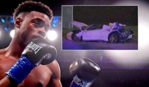 Campeón mundial de boxeo se encuentra en estado crítico tras sufrir aparatoso accidente
