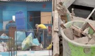 SJM: inician campaña ''Techo Limpio'' que erradicará toneladas de basura