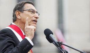 Martín Vizcarra: aprobación del presidente bajó de 70% a 58%, según IEP