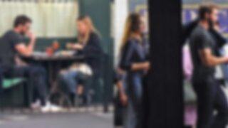 Liam Hemsworth es captado muy cariñoso junto a conocida actriz tras su ruptura con Miley Cyrus