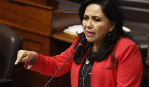"""Gloria Montenegro: """"queremos un Congreso que piense en el país no en intereses personales"""""""