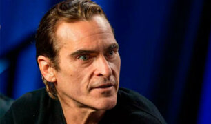 EEUU: Joaquin Phoenix sufrió accidente vehicular