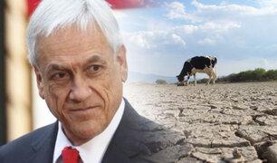 """Crisis hídrica chilena: Sebastián Piñera definió la sequía como """"un terremoto silencioso"""""""