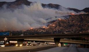 EEUU: California convertida en un infierno a raíz de incendios forestales