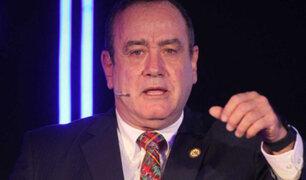 Venezuela prohíbe ingreso a mandatario electo de Guatemala