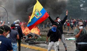 Ecuador: líderes indígenas aceptan dialogar tras violentas protestas