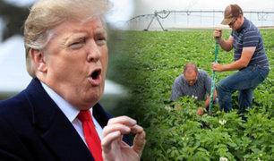 """Donald Trump: """"El acuerdo con China es el mejor que se haya hecho para nuestros granjeros"""""""