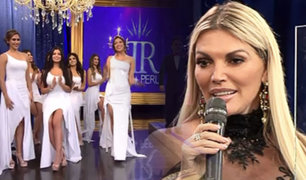 Miss Perú 2019: Jessica Newton presentó a las candidatas del prestigioso concurso