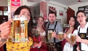 Oxapampa: la colonia alemana celebra su primer festival de la cerveza