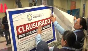 Miraflores: multan a Cineplanet de Óvalo Gutiérrez por irregularidades