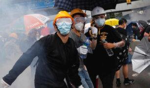 Hong Kong: protestan por prohibición de uso de máscaras
