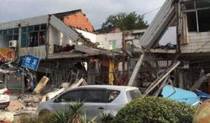 VIDEO: 10 muertos dejó explosión en un restaurante de China