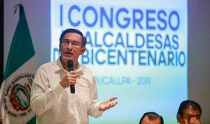 Vizcarra: Hay condiciones para que comicios del 2020 se hagan con transparencia