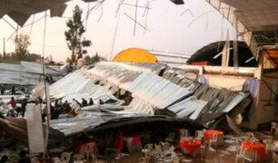 Huancayo: derrumbe de techo deja al menos 6 muertos y 40 heridos