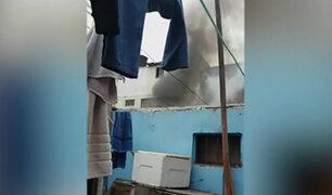 Surquillo: incendio en vivienda habría sido provocado por reciclador