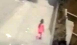 Hallan a niña desaparecida en La Victoria
