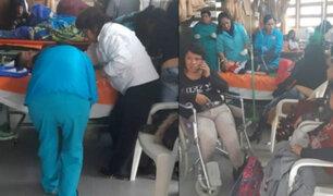 Áncash: al menos 10 heridos deja despiste de miniván en provincia de Recuay