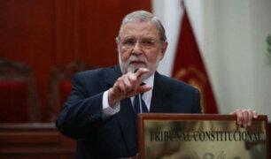 Blume sobre caso Fujimori: sentencias del TC no corresponden a presiones políticas