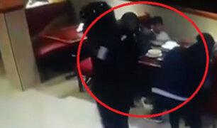 Chorrillos: delincuentes asaltan chifa y se llevan cerca de 1000 soles