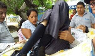 Amazonas: Margarito resultó herido tras sufrir caída