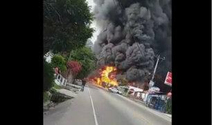 Honduras: una persona fallece tras choque de camión contra vivienda