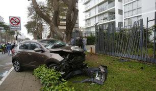 Accidente en Javier Prado: PNP resolvió que conductora manejaba a excesiva velocidad