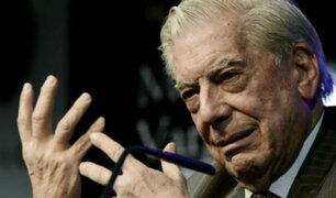 """Vargas Llosa: """"En política muchas veces hay que elegir el mal menor"""""""