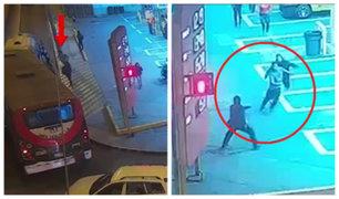 Surco: vecinos y serenos atraparon a ladrón de celulares