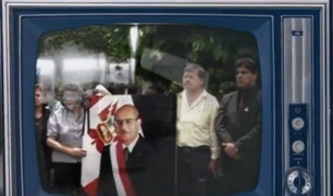 Se vio por Panamericana: el homenaje póstumo al expresidente Valentín Paniagua