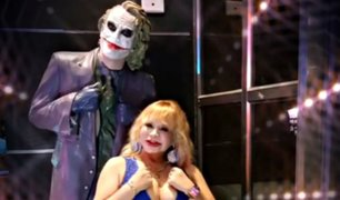 Susy Díaz sorprende a miles al compararse con el 'Joker'