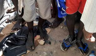 """VIDEO: rescatan a 67 personas  de otra """"escuela del terror"""" en Nigeria"""