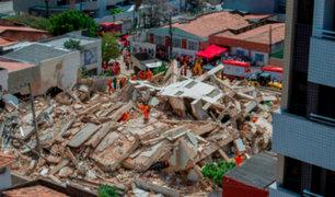 Brasil: colapso de edificio deja al menos un fallecido
