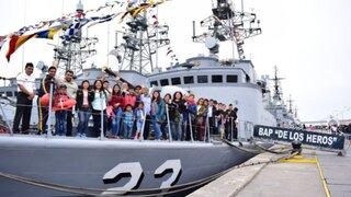 ¡Puertas abiertas! Visita gratis este domingo los buques y submarinos de la Base Naval del Callao