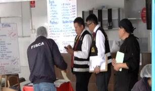 La Victoria: cierran restaurantes inseguros en C.C. Polvos Azules