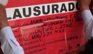 Surco: clausuran clínica clandestina que funcionaba en una vivienda