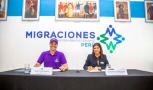 Municipalidad de La Victoria y Migraciones firman convenio para control migratorio