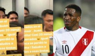 Jefferson Farfán: jugador pasó tremendo susto al quedar atrapado en ascensor