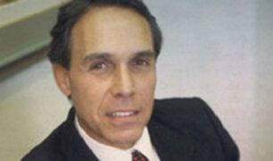 Ortiz de Zevallos acudió esta tarde a la sede del Tribunal Constitucional